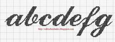 Edilse Bordados: Monogramas