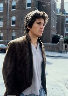Love This Photo Of JFK Jr ~ **It Really Shows Off His Rugged Good Looks**