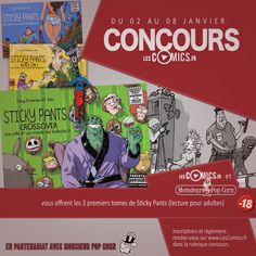[concours] Gagnez Sticky Pants tomes 1 2 et 3