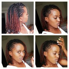 Hair afro 10 Easy Natural Hair Winter Protective Hairstyles For Work Without Extensions Try this protective styles for natural hair without weave Natural Braided Hairstyles, Protective Hairstyles For Natural Hair, Natural Hair Braids, Twist Braid Hairstyles, Braided Hairstyles For Black Women, African Braids Hairstyles, Braids For Black Hair, Natural Twists, Hairstyles 2016