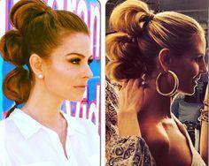 Bubble ponytail a todo volumen por Maria Menounos - TELVA