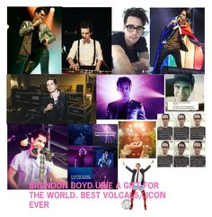 """""""brendon urie"""" by sheafleming195 ❤ liked on Polyvore featuring art"""