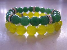 Limonkowe i zielone jadeity