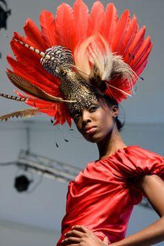 Feather Hat Milliner Philip Treacy at Selfridges (Vogue.com UK) Fancy Hats 563c3108ceb