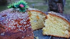 Greek Sweets, Greek Desserts, Greek Recipes, Food Network Recipes, Gourmet Recipes, Cooking Recipes, The Kitchen Food Network, Pastry Design, New Year's Cake
