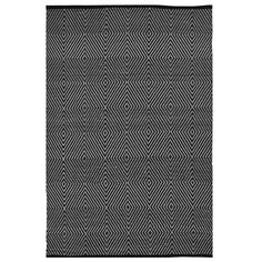 Fab Rugs Zen Black Indoor/Outdoor Area Rug | AllModern