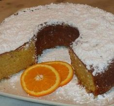 Κέικ με ολόκληρο πορτοκάλι- από τα ωραιότερα !!! #Γλυκά