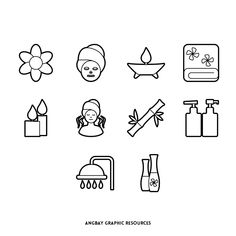 Social Icons, Icon Set, Clinic, Draw, Stickers, Math, Fitness, Illustration, Beauty