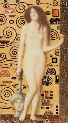 XIV - Tempérance - Tarot de Klimt par A. Atanassov