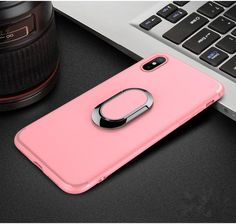 Luxury iPhone X Case with Plating Ring Finger Used as Kickstand - Black,Blue,Pink,Red  iphone x case with ring stand  Awesome iPhone 10 iPhone X Apple Products link website cases awesome products shops store buy for sale  website online shopping free shipping accessories  phone covers beautiful gifts AuhaShop.com protective Buy Online Shopping Store Shop Free Shipping Best Cheap Bulk Wholesale Gift Ideas Cases Australia United States UK Canada Deals AuhaShop.com