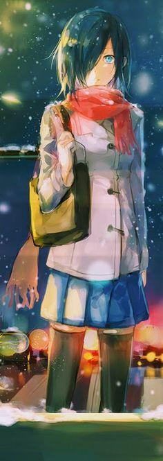 Touka Kirishima - Tokyo Ghoul:re #TG #anime When I first saw her...she looked like Yato