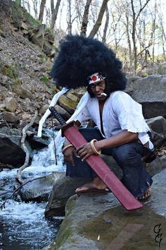 This Afro Samurai Cosplay Is Just The BEST