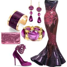 """slinkysequins"" by maryannlima on Polyvore"