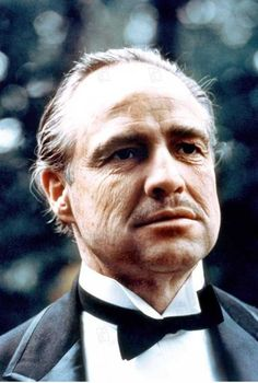 The Godfather, Brando Godfather, Godfather Quotes, Marlon Brando, Classic Hollywood, Old Hollywood, Don Corleone, Francis Ford Coppola, Old Portraits
