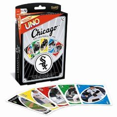 Fundex Games Chicago White Sox MLB Uno