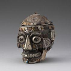 Skull bowl - Tibet c.18 century