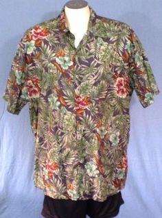 Tori Richard Multi-Colored 3XL Hawaiian Shirt Floral Vintage Cotton Lawn #ToriRichard #Hawaiian