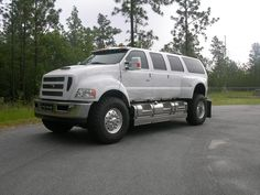 White Ford F-650 XUV $212,820