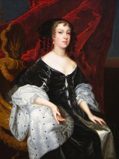 ca. 1670 Catherine of Braganza by Lely studio (Roy Precious ...