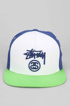 d0f9e68c9ab Stussy Colorblock Snapback Hat - Urban Outfitters Snapback Hats