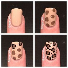 The Best Nail Art Designs – Your Beautiful Nails Nail Art Diy, Diy Nails, Cute Nails, Pretty Nails, Sharpie Nail Art, Black Sharpie, Nagellack Design, Nagellack Trends, Leopard Print Nails