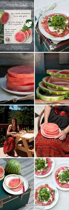 Good idea!!! watermelon~