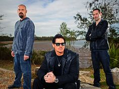 Ghost Adventures: Aaron Goodwin, Zak Bagans, Nick Groff
