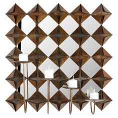 Found it at Wayfair - Pillar Wall Sconce in Burnt Copper