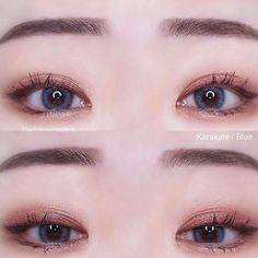 korean makeup looks Korean Makeup Look, Korean Makeup Tips, Asian Eye Makeup, Korean Makeup Tutorials, Natural Eye Makeup, Ulzzang Makeup Tutorial, Natural Beauty, Beautiful Eye Makeup, Cute Makeup