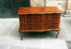cassettone '700 ferrarese Antiquariato su Exclusive Antiques