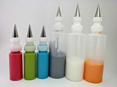 Royal Icing- How to get it in those little bottles
