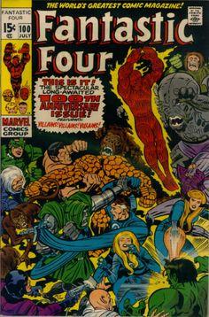 COMIC fantastic four 60 #comic #cover #art