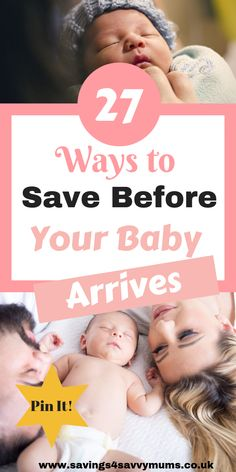 This is how to save for a baby before you go on maternity leave. We have 27 tips for all new parents to be that can help you save before baby is born by Laura at Before Baby, After Baby, Education Positive, Baby Education, Baby On A Budget, Pregnancy Information, Baby Arrival, Pregnant Mom, First Time Moms