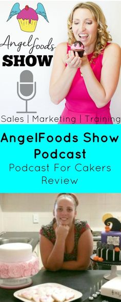 Angel Foods Caker Podcast  Who absolutely digs listening to Podcasts? Or constantly has the radio on in the background while caking?   http://magnificentmouthfuls.com.au/2017/03/22/angel-foods-caker-podcast/