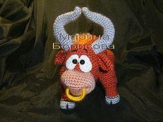 Signo del Zodíaco Amigurumi: Tauro ~ Patrón Gratis en Castellano Thread Crochet, Knit Crochet, Crochet Hats, Knitted Dolls, Crochet Dolls, Diy Projects To Try, Crochet Projects, Amigurumi Patterns, Crochet Patterns