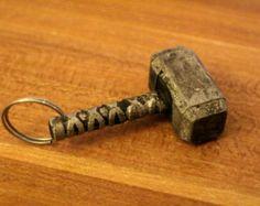 Norse Thors hammer Mjolnir Anhänger In von MatthiasMetalsmith