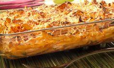 Receta de Macarrones con tomate, chorizo y queso