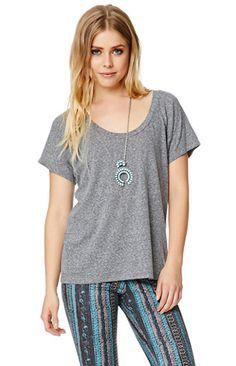 Relaxed Raglan T-Shirt