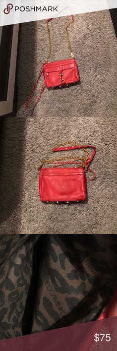 Rebecca Minkoff Crossbody Bag Red/Orange Cross Body Bag Rebecca Minkoff Bags Crossbody Bags
