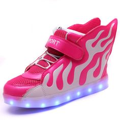 b439dbf793a94 Hot 2016 sale fashion sneaker baby boys girls led shoes kids sport flash sneaker  children