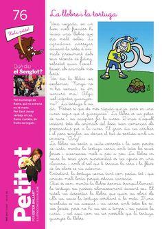 La llebre i la tortuga Del Conte, Lectures, Comic Books, Words, School, Reading Comprehension, Turtles, Journals, Storytelling