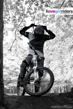 Get focused! » Rider: Dyana Nadjafi - Photo: Tobbi Tobstar - #ilovegirlriders #iamagirlrider #ilgr #girlriders #mtb #bmx #jump #dhgirl #downhill #ciclocross #freeride #road #cycling #cyclingwomen #womenscycling