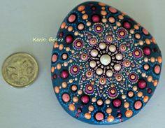 pintar piedras pintada piedras arte rupestre por KarinGetazArt