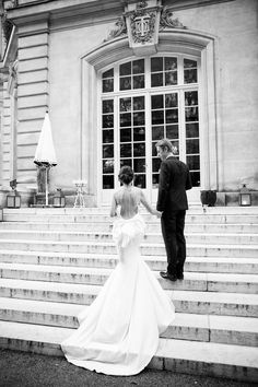 Photography: Le Secret D'Audrey - lesecretdaudrey.com  Read More: http://www.stylemepretty.com/destination-weddings/2015/01/22/classic-couture-paris-wedding/