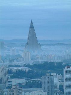 Beautiful Ryugyong Hotel, North Korea | Read More Info