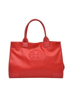 Tory Burch Ella Tote bag. Not bad for $395. Love the color