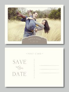 Save the Date etc. Templates PS