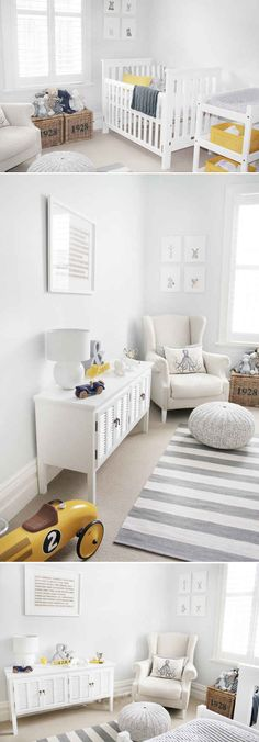 This little boys nautical nursery is timeless and classic but still fresh and not to theme bound.