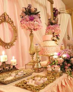 Princess/Garden Baby Shower Party Ideas | Photo 5 of 25