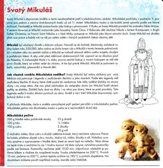 Sv. Mikuláš 1 Advent, School Clubs, Winter Project, Saint Nicholas, Yule, Christmas Time, Coloring Pages, Kindergarten, Homeschool